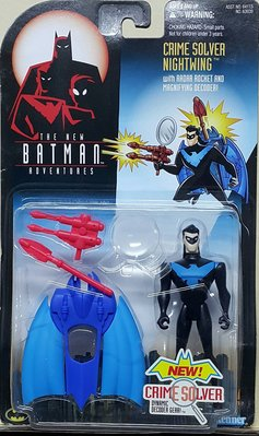 全新 KENNER BATMAN 蝙蝠俠 CRIME SOLVER NIGHTWING 夜翼