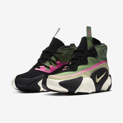 Nike React Frenzy 黑 綠 休閒 cn0842-300 男鞋
