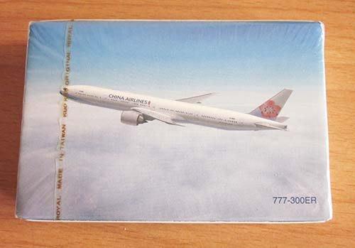 華航撲克牌~777-300ER~全新未拆封~