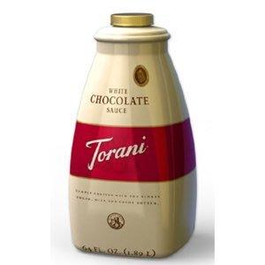 Torani-美國特朗尼白巧克力裝飾淋醬- 64OZ/罐--【良鎂咖啡精品館】