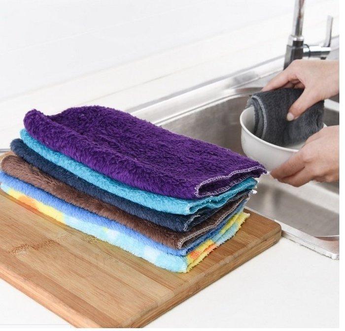 =寵喵百貨= 大號不沾油抹布 纖維不沾油抺布 吸水抹布 洗碗布 神奇洗碗巾 神奇抹布 百潔布 多功能洗碗巾 纖維洗碗巾