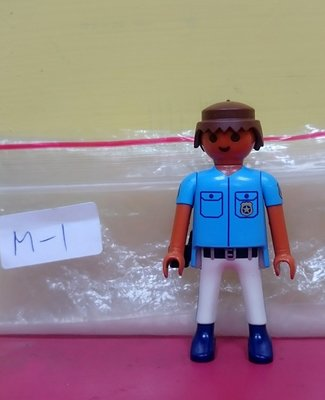 【摩摩小屋】 德國 playmobil 警察 Police 摩比人 男人 Man 二手 人偶 2手