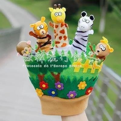 BELOCO 躲貓貓手套玩偶給寶寶講故事用手指手套森林BE655