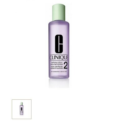 CLINIQUE 倩碧三步曲溫和潔膚水2號容量400 ML
