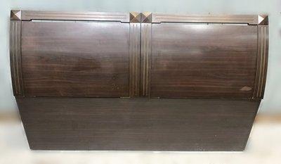 樂居二手家具(中) 便宜2手傢俱拍賣 B111201*胡桃5尺床頭櫃* 碗盤櫥櫃 收納架 鐵力士架 2手家具拍賣 沙發