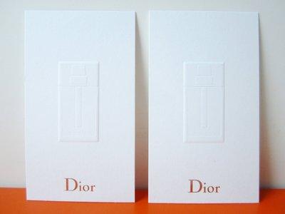 法國名牌【DIOR】迪奧 長方形 DIOR HOMME 香水 試香紙卡 保證全新正品/真品 現貨