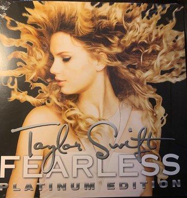 (全新未拆封)Taylor Swift 泰勒絲 - Fearless 無懼的愛 雙片裝白金豪華版 黑膠LP