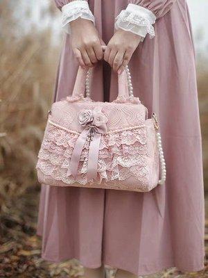 粉紅玫瑰精品屋~🌸復古宮廷 純手工縫製...