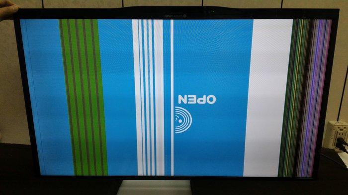 【大台北液晶維修】宏澐液晶電視亮線、亮帶維修7T-40SP711,OPNE將40吋、鴻海40吋