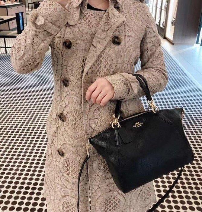 美國正品 COACH 36675 經典款小號水餃包 女式手提包 單肩背包 柔軟荔枝紋真皮