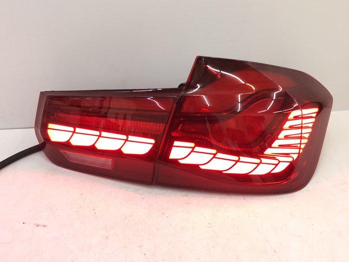 炬霸科技 車燈 F30 F35 LED 導光 尾燈 後燈 龍麟 龍鱗 12 13 14 15 16 17 18 紅殼