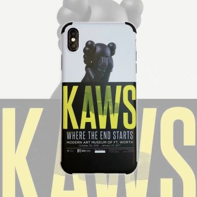 KAWS WHERE THE END STARTS IPHONE蘋果手機殼