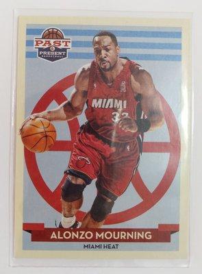 2012-13 Panini Past & Present Alonzo Mourning #117 籃球卡