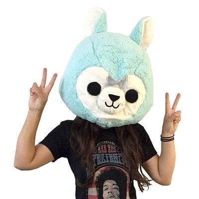 【丹】A_Big Fat Head: Alpaca 草尼馬 造型 帽子 頭套 COSPLAY