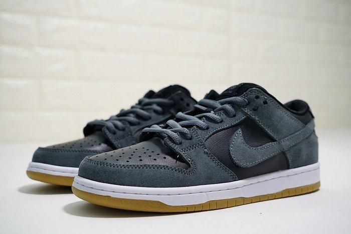 """Nike SB Dunk Low TRD""""霧霾灰黑白生膠""""經典 百搭 休閒滑板鞋 AR0778-001 男"""