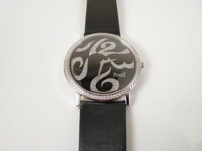 [卡貝拉精品交流] PIAGET 伯爵錶 ALTIPLANO 18k金 手上鍊超薄機械錶 限量鑽錶 整顆原裝 盒單齊全