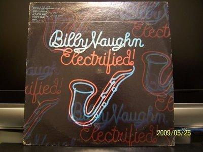 【原版流行LP】250-1.Billy Vaughn:Electrified專輯(曲目詳照片)