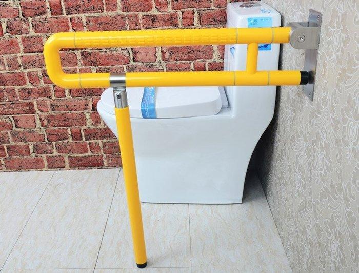 【奇滿來】身心障礙 長者安全居家照護 長60cm底座厚6mm 可折疊衛浴浴室扶手 無障礙空間 止滑洗手台扶手 AYAF