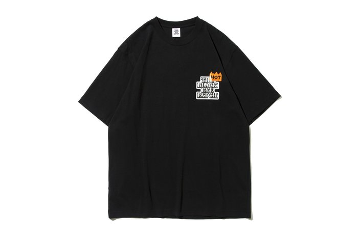 "[ LAB Taipei ] BlackEyePatch "" HOT LABEL TEE ""(Black)"