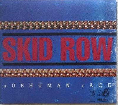 《絕版專賣》Skid Row 史基洛樂團 / Subhuman Race 次等種族