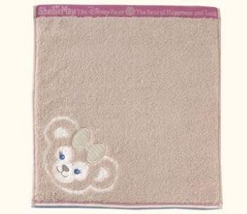 北海道名品館 日本迪士尼限定 雪莉玫 方巾 毛巾 洗臉巾 東京迪士尼限定 現貨 雪莉玫毛巾