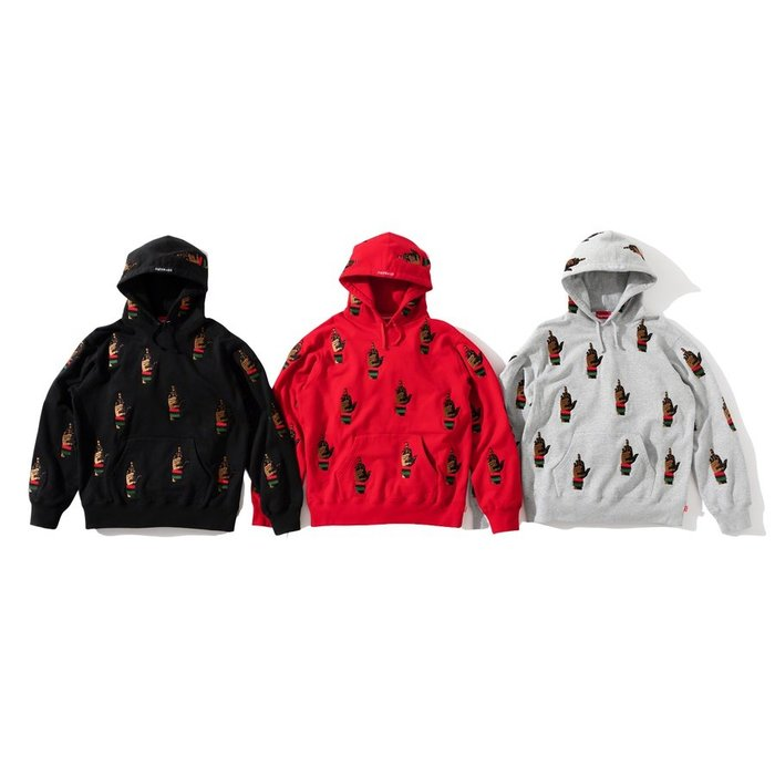 【紐約范特西】預購Supreme FW19 dead prez RBG Embroidered Hooded 中指 帽T