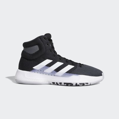 南◇2019 3月PRO BOUNCE MADNESS 2019 愛迪達 編織 高筒籃球鞋 黑白色 避震 Bb9239