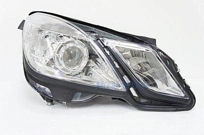 ~~ADT.車燈.車材~~BENZ W212 09 10 11 12  原廠型晶鑽魚眼大燈單邊價 限用無HID版本