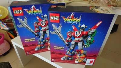 全新 現貨 樂高 LEGO 21311百獸王 五獅合體 聖戰士積木