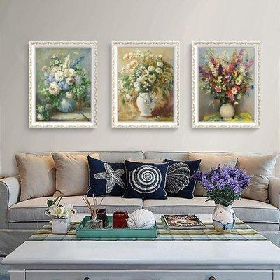 裝飾畫客廳臥室掛畫餐廳歐式現代簡約壁畫玄關油畫墻畫沙發背景墻HD