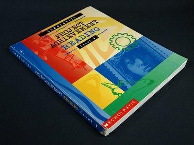 【考試院二手書】《PROJECT ACHIEVEMENT READING LEVEL 1》│Baker & Taylor Books│SPACHE│七成新(11F22)