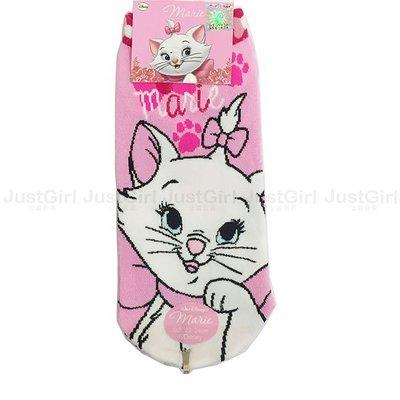 迪士尼 瑪麗貓 瑪莉貓 襪子 成人 幼童 短襪 船型襪 彈性襪 39元 正版授權台灣製造 JustGirl