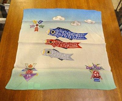 Bunny House~鯉魚巾-小 61-WA034(安撫巾.口水巾.浴衣.日本和服.便當袋.與品東西居家風格相似)