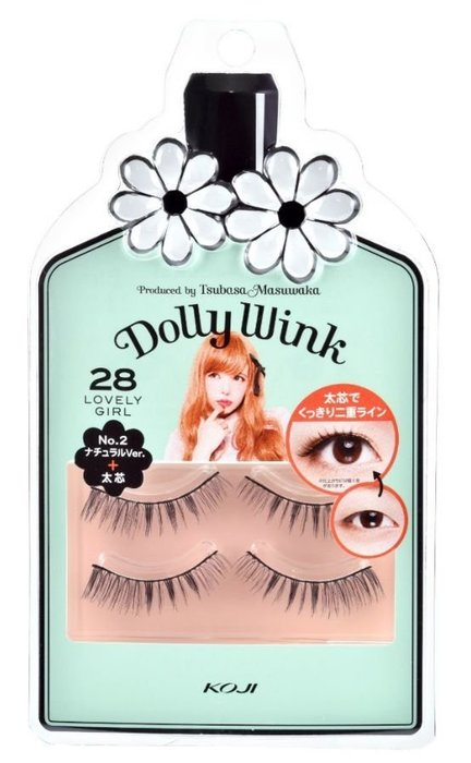 ❤雜貨小鋪❤  KOJI Dolly wink 假睫毛 No 28 可愛的女孩