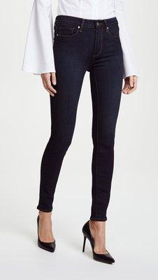 ◎美國代買◎Paige Transcend Hoxton Ultra Skinny Jeans深藍色經典百搭牛仔褲