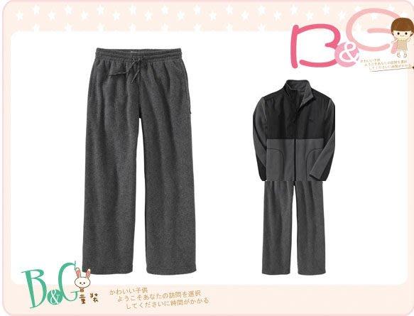 【B& G童裝】正品美國進口 OLD NAVY 灰色刷毛保暖長褲M號8-9yrs