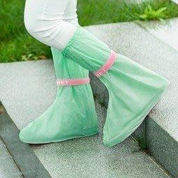 【八八八】e網購~【防水雨鞋套兒童LA322】NO135防水鞋套 加厚耐磨 防塵鞋套 平底鞋套
