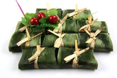 【素食系列】竹葉芋香糕10入(全素)/約600g~竹葉香和芋香最完美的組合