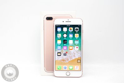 【高雄青蘋果3C】APPLE IPHONE 7 PLUS 128G 128GB 玫瑰金 5.5吋 二手手機 #60538