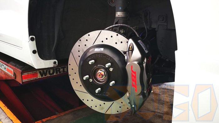 SUGO汽車精品 JBT 330mm JB4P中四一體碟  卡鉗套裝組