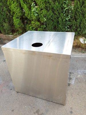 彰化二手貨中心(原線東路二手貨) --- 特製全白鐵304瓦斯桶台 瓦斯桶台