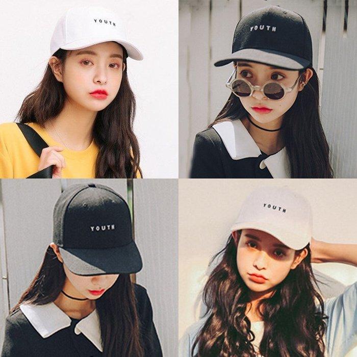 ✿悠悠家✿同款棒球帽韓國白色時尚個性復古鴨舌帽軟妹休閑帽子女夏天潮