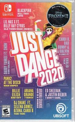 Switch遊戲 NS 舞力全開 2020 Just Dance 2020 中文版【板橋魔力】