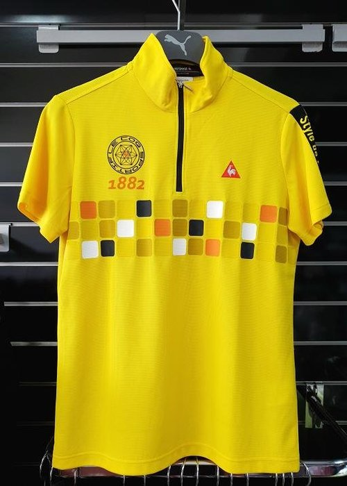 (易達高爾夫) 全新原廠 le coq sportif TQG2041K #M 黃色 男短袖上衣