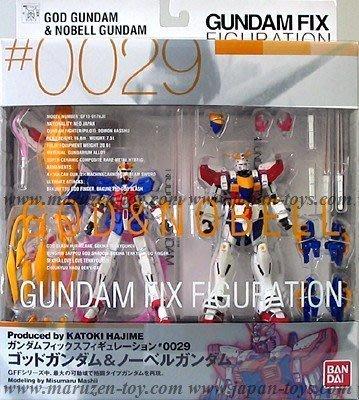 全新 FIX #0029 GFF 鋼彈 Gundam God 閃光 神 + Nobel 諾貝爾