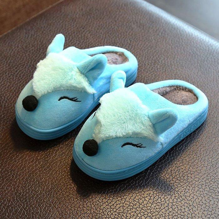 兒童拖鞋正韓版兒童棉拖鞋女童男童小孩寶寶可愛時尚親子卡通棉拖室內防滑棉拖鞋8-22