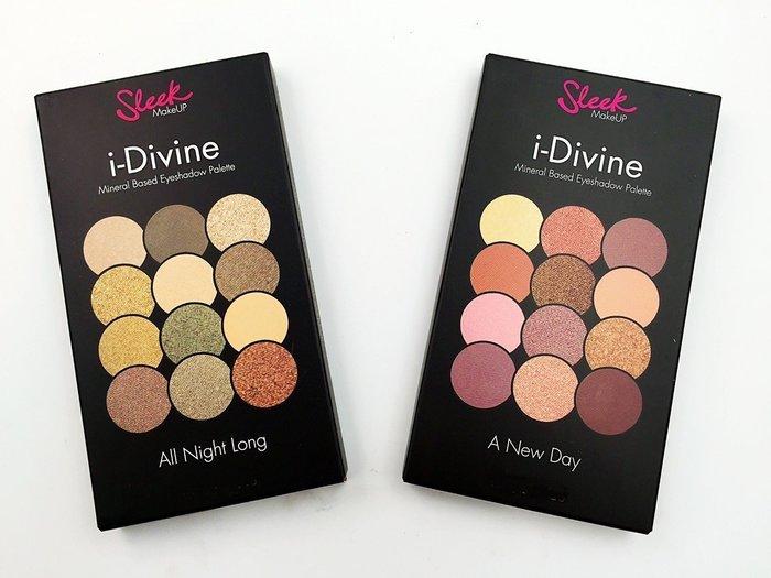 【愛來客】 新款英國sleek 彩妝12色礦物眼影盤ALL NIGHT LONG 429 及A NEW DAY 430