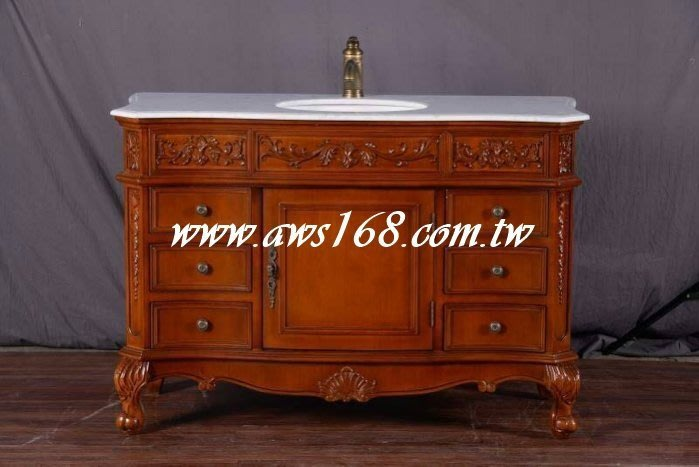 古典巴洛克歐式浴櫃 洗手台
