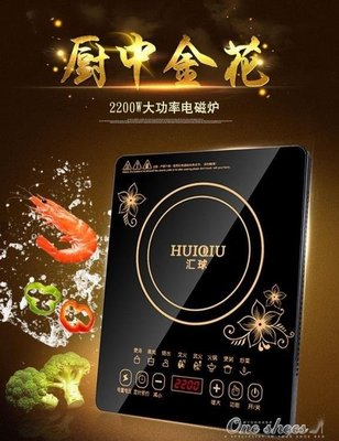 ZIHOPE 2200W智慧觸摸式電磁爐鍋家用炒菜火鍋防水電池爐電子爐220VZI812
