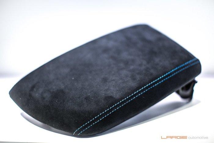 【樂駒】F87 M2 M2C Alcantara 麂皮中央扶手 藍線 臂托 碳纖維 內裝 套件